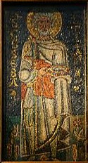 He was represented, until the Renaissance time, the way we can still see in the beautiful mosaic in Saint Peter's in Chain (dating to the VII centuryas); an old man, or better an old soldier of high rank