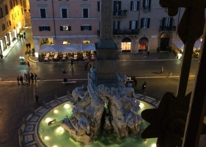 Fountains and Piazzas in Rome
