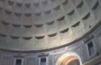 Noon inside the Pantheon